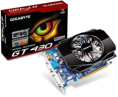 Gigabyte GT 430 GV-N430OC-1GI