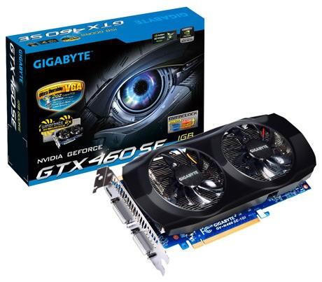GeForce GTX 460 SE de Gigabyte
