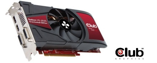 Club3D presenta su Radeon HD 6850 Overclocked Edition