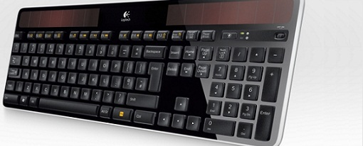 Nuevo teclado Logitech K750 inalambrico que se recarga con luz solar o artificial