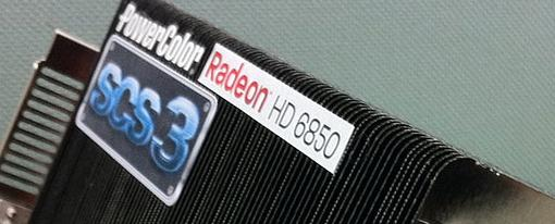PowerColor muestra su Radeon HD 6850 SCS3