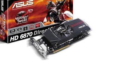 Asus Radeon HD 6870 DirectCU con componentes de alta calidad