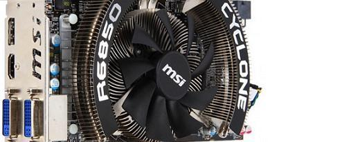 MSI revela su R6850 Cyclone 1GD5 Power Edition