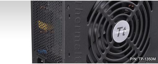 Thermaltake Toughpower 1350W con certificacion 80Plus Silver