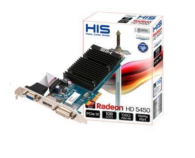 HIS Radeon HD 5450 Silence H545H1GD1