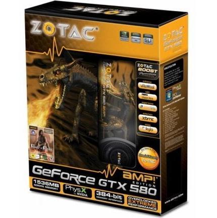 Zotac GeForce GTX 580 AMP!