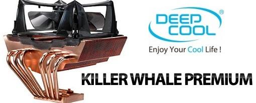 Nuevo CPU Cooler Killer Whale Premium de Deepcool