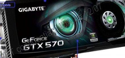 Filtrada imagen de una GTX 570 de Gigabyte y sus especificaciones