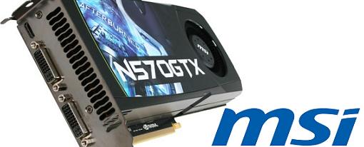 MSI revela su tarjeta de video N570GTX-M2D12D5