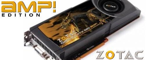 Zotac presento su GeForce GTX 580 AMP! Edition