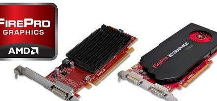 Nuevas tarjetas de video FirePro 2270 y V5800 DVI de AMD