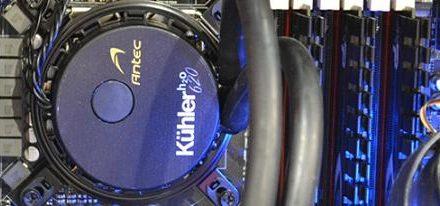 Antec y Asetek revelan el Kühler H2O 620 el primer producto de su nueva alianza