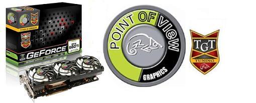 Point of View y TGT presentan sus GeForce GTX 560Ti serie TFC