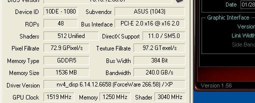 Asus DirectCU II GTX 580 @ 1519 MHz !