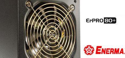 Enermax presenta su nueva linea de fuentes ErPro80+