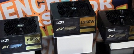 OCZ muestra en la CES 2011 su nueva serie ZX de fuentes de poder