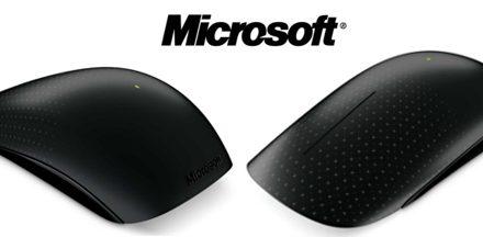 Microsoft lanza su nuevo roedor multitáctil «touch mouse»