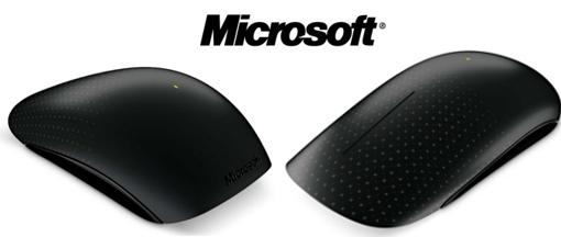 """Microsoft lanza su nuevo roedor multitáctil """"touch mouse"""""""