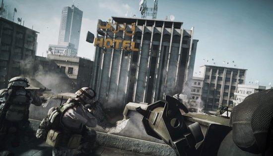 Battlefield 3 gameplay