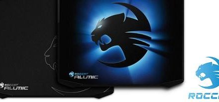 Alumic el mousepad gaming doble cara de Roccat