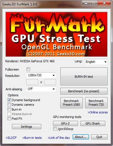 FurMark 1.9.0