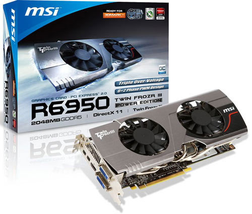 R6950 Twin Frozr III Power Edition de MSI
