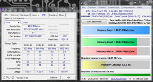 MaxxMEM 2100 MHz CAS 9