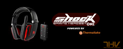 Audifonos Tt ESPORTS Shock One USB para gamers