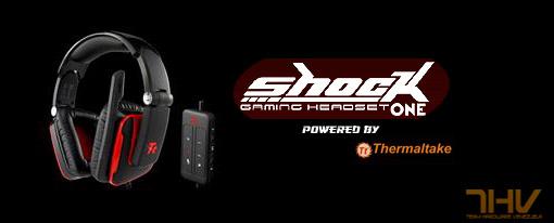 Audifonos Tt ESPORTS Shock One USB para gamers