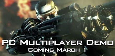 Demo oficial de Crysis 2 para 1º de Marzo