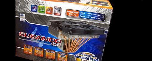 Susanoo el gran CPU Cooler de Scythe