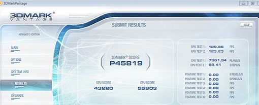GeForce GTX 580 @ 1.504 MHz, establece récord en 3DMark Vantage