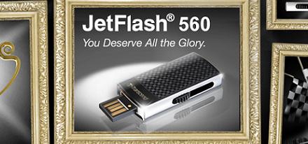 Nuevo flash drive JetFlash 560 de Transcend