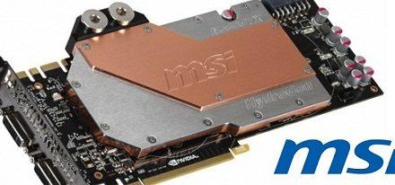 Nueva MSI N580GTX HydroGen/OC con waterblock