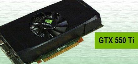 Nvidia GeForce 550 Ti para marzo