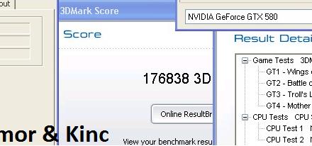 elmor y Kinc imponen nuevo record en el 3DMark 03 single GPU