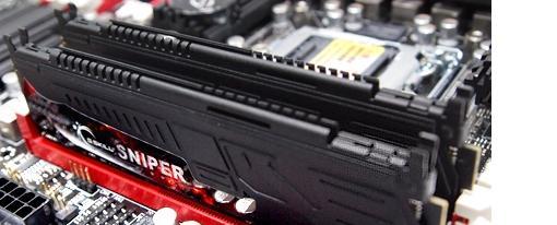 Nuevas memorias DDR3 Sniper de G.Skill