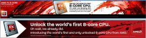 Banner AMD FX 8-Core Zambezi