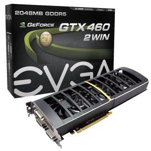 GeForce GTX 460 2Win de EVGA