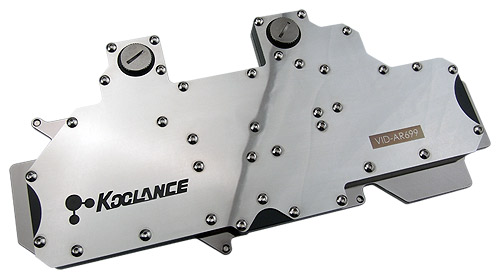 Water Block VID-AR699 de Koolance