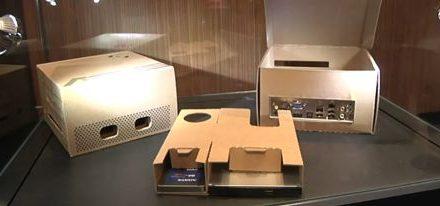 Embalaje ASUS «Transformer» de cartón