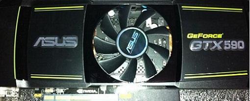Filtradas imagenes de una GeForce GTX 590 de Asus