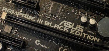 La nueva Asus Rampage III Black Edition en la CeBIT 2011