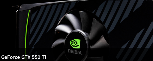 Nvidia hace oficial su GeForce GTX 550 Ti
