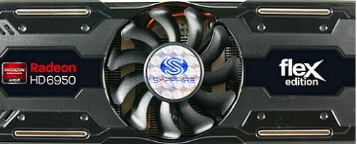 Radeon HD 6950 Flex Edition 2 GB de Sapphire