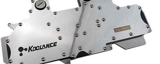 Water Block para la Radeon HD 6990 de Koolance