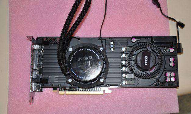 Corsair H70 en una GTX480