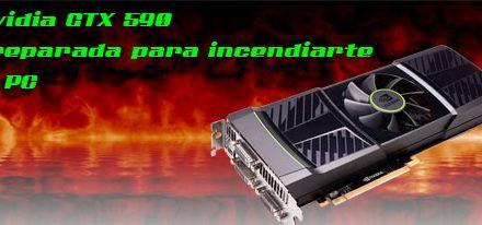 GTX 590 alcanza 112º en pruebas termicas