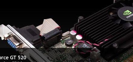 Nvidia hace oficial su GeForce GT 520