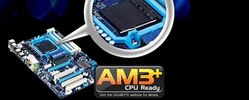 Gigabyte revela sus tarjetas madres con soporte AM3 +
